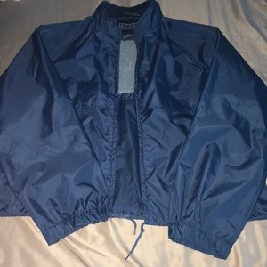Jackets & Blazers - Navy Blue Windbreaker